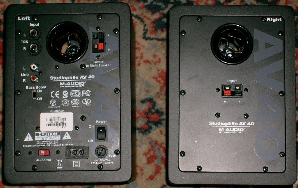 Computer speaker internal