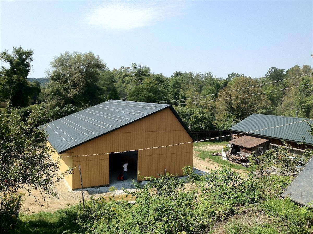 Solar Pole Barn