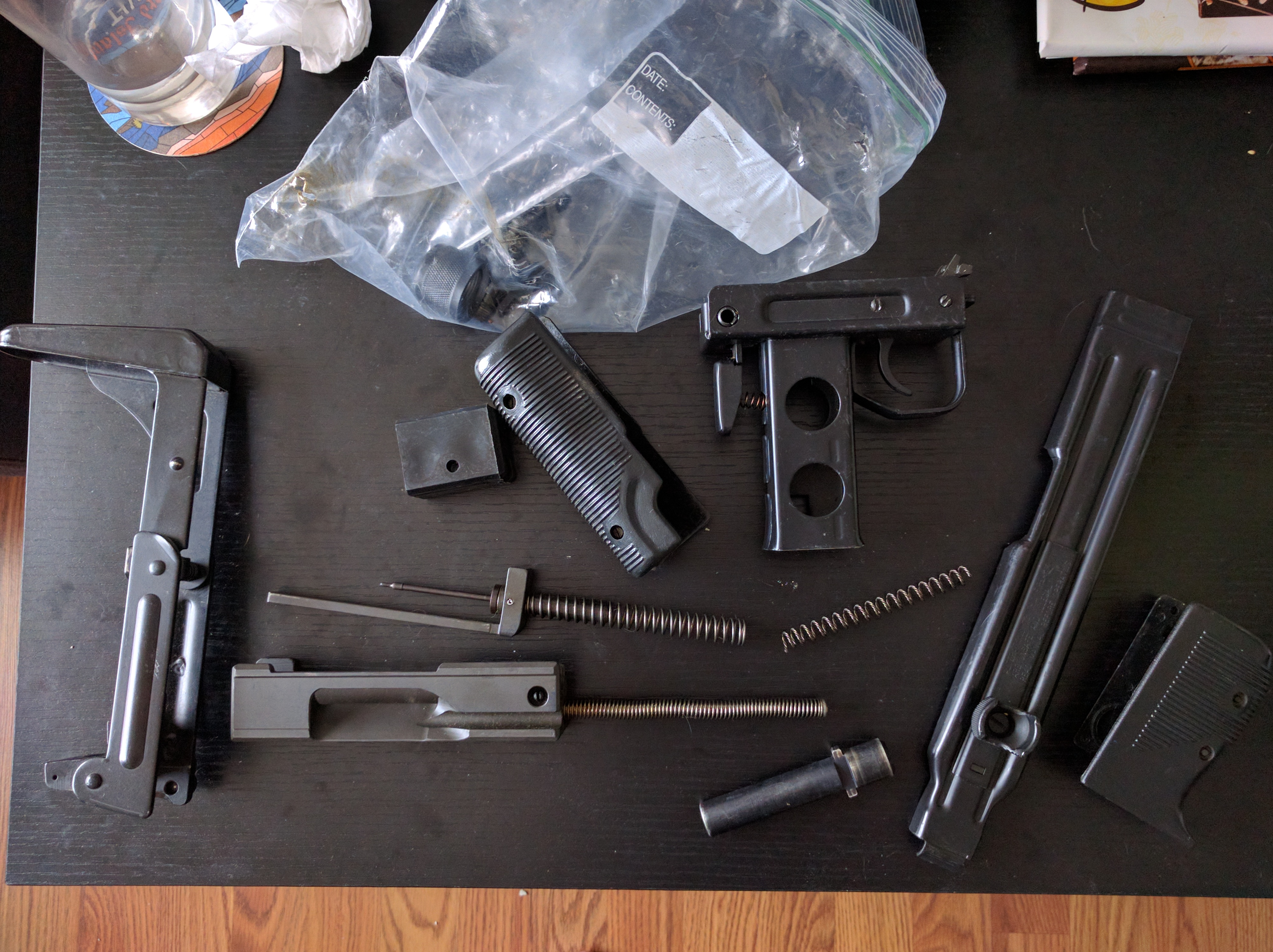 Images of Micro Uzi Parts Kit - #rock-cafe